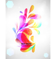 Bright Abstract Ornament for Design vector image vector image