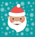 drawings for christmas image of santa claus on vector image
