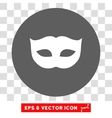 Privacy Mask Round Eps Icon vector image vector image