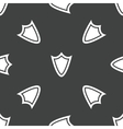 Shield pattern vector image vector image