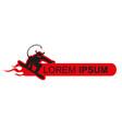 snowboard logo template snowboarding emblem vector image