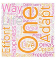 The Essence of Freedom text background wordcloud vector image vector image