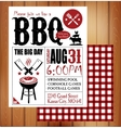 BBQ vector image vector image