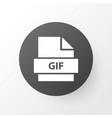 file icon symbol premium quality isolated gif vector image