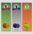 for ripe fruit colorful grape vector image