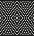 geometric seamless pattern black white graphic vector image vector image