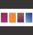 halftone dots modern colorful design future vector image vector image