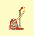 household cleaning supplies isolated icons vector image