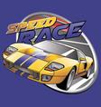 speed race vector image vector image