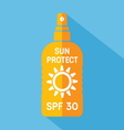 sun protect1 resize vector image vector image