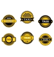 Taxi symbols and signs vector | Price: 1 Credit (USD $1)