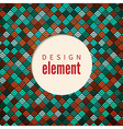 geometrical colorful backgound vector image