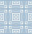 blue geometric seamless pattern intersecting lines vector image