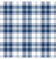 blue tartan plaid pattern vector image