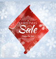 christmas sale and happy new year poster vector image vector image