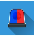 Flasher light icon vector image