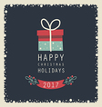 happy holidays123 vector image vector image