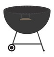 isolated barbecue grill vector image vector image