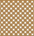 japanese pattern gold and brown background vector image