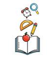School study element cartoon