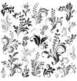 swirly design elements vector image vector image
