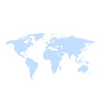 earth world map on a white background vector image