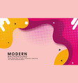 modern abstract trendy background vector image vector image