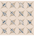 seamless abstract background with handling tools vector image