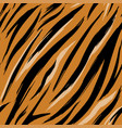 seamless texture tiger skins pattern eps 10 vector image