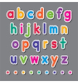 paper small letters vector image