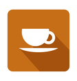 icon coffee mug vector image