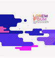 abstract flat dynamic background design movement vector image
