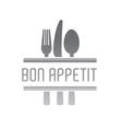 Bon Appetit Design vector image