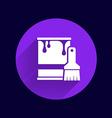 paint bucket icon button logo symbol concept vector image vector image