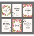 Plants and herbs banners set vector image vector image