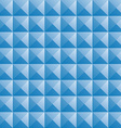 triangle blue jewel texture seamless background vector image vector image