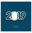 2019 cote d ivoire ivory coast typography happy vector image vector image