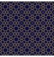 Abstract seamless patterns in Islamic style vector image