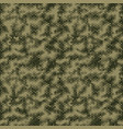 military camouflage seamless pattern hexagonal vector image vector image