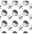 Seamless Oktoberfest Pattern vector image vector image