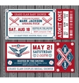 Set vintage baseball labels and badges
