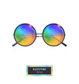 Summer sunglasses with colorful gradient