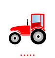 tractor it is icon vector image