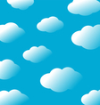 Abstract sky clouds background vector image vector image
