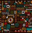 africa art ethnic seamless pattern tribal print vector image vector image