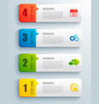 business banners set vector image vector image