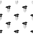 Honey agaric icon in black style isolated on white vector image vector image