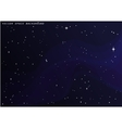 Outer space star background Night sky