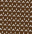 seamless pattern camping in woods with the vector image vector image