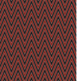 Seamless zig zag stripe pattern background vector image vector image